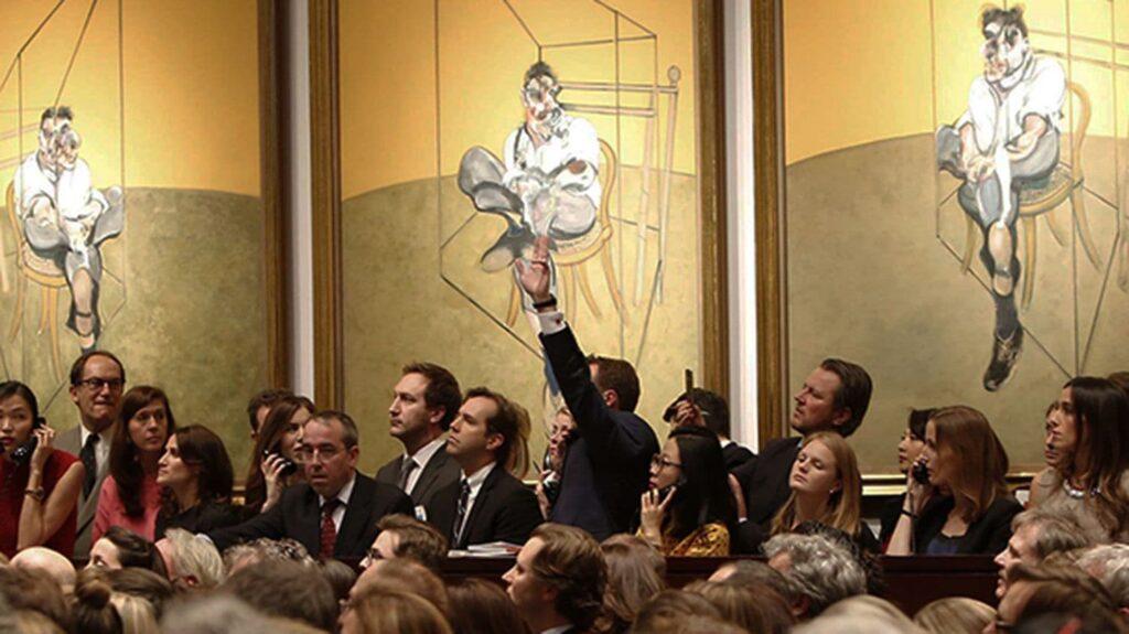 Francis Bacon - Vente Trois études de Lucian Freud
