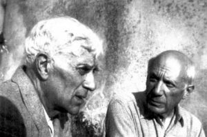 Georges Braque et Pablo Picasso