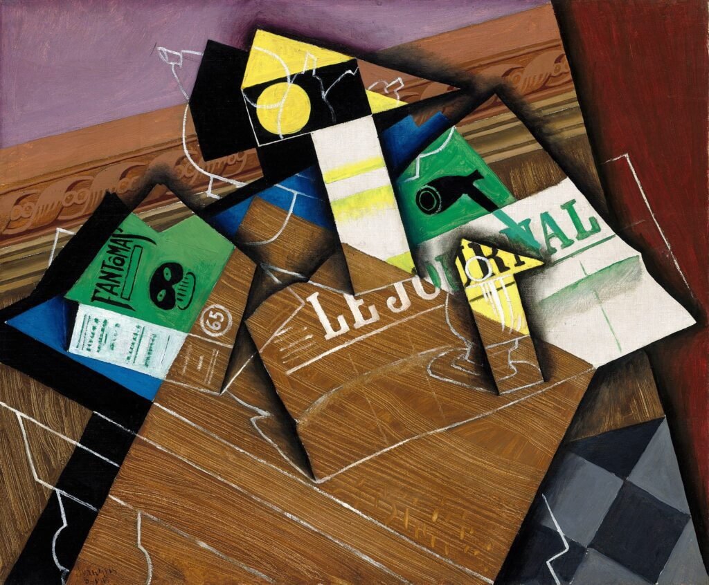 Le cubisme synthétique: Juan Gris - Fantômas