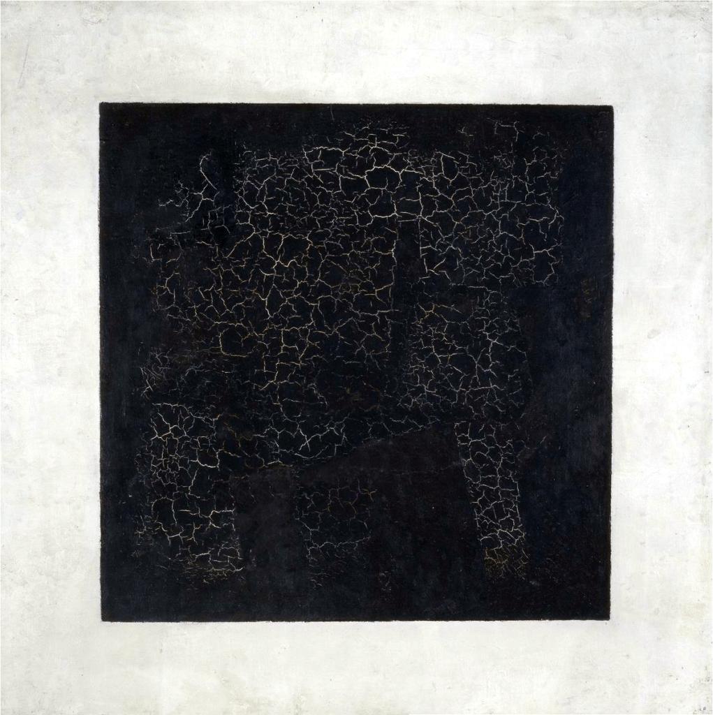 Kasimir Malevitch - Carré noir sur fond blanc