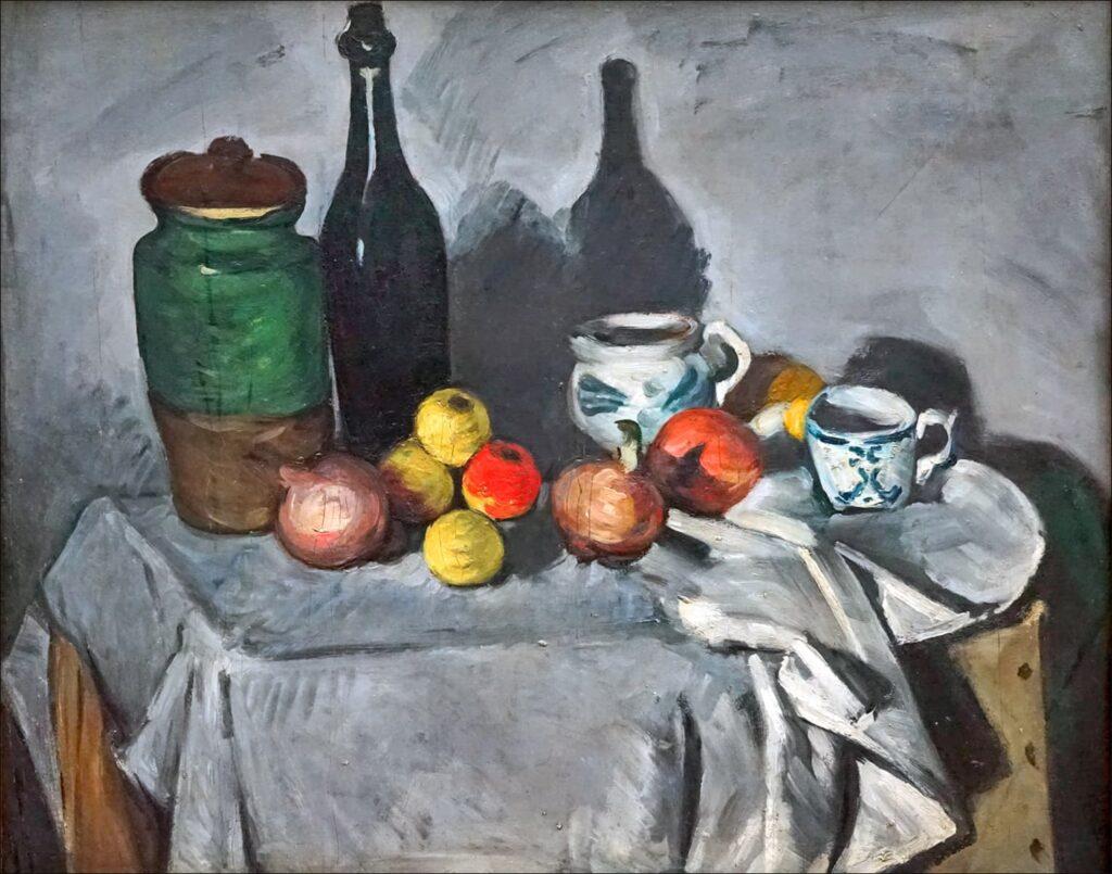 Le précubisme ou Cubisme Cézannien: Paul Cézanne - Nature Morte