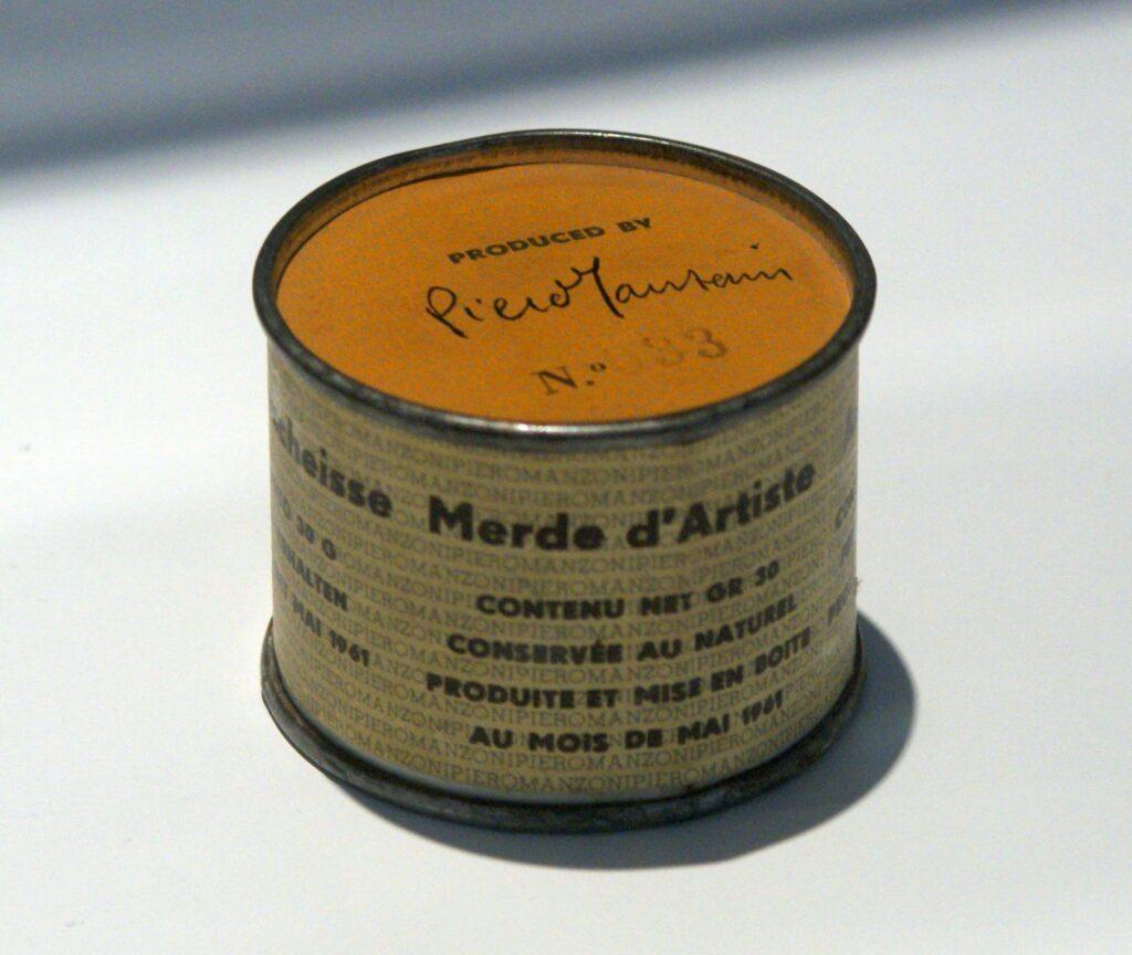 Piero Manzoni - Merde d'artiste