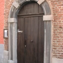 Marcel Warrand - Porte d'entrée de l'atelier
