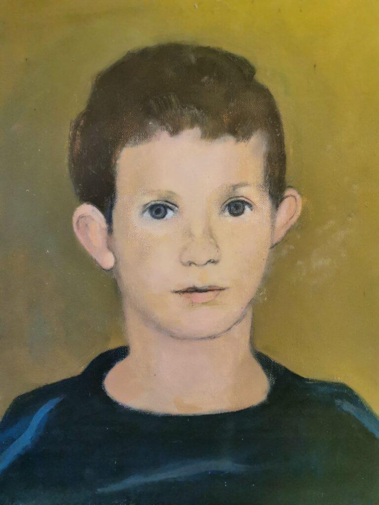 Marcel Warrand - Portrait du fils d'un ami