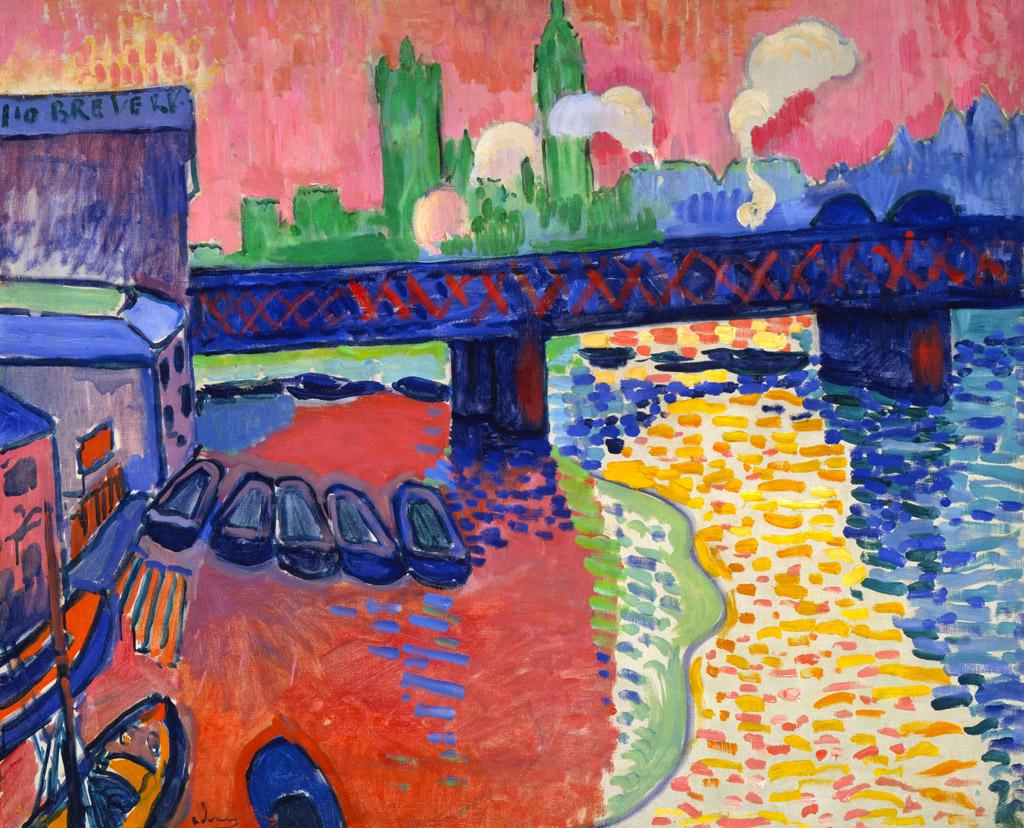 André Derain, Pont de Charing Cross, 1906