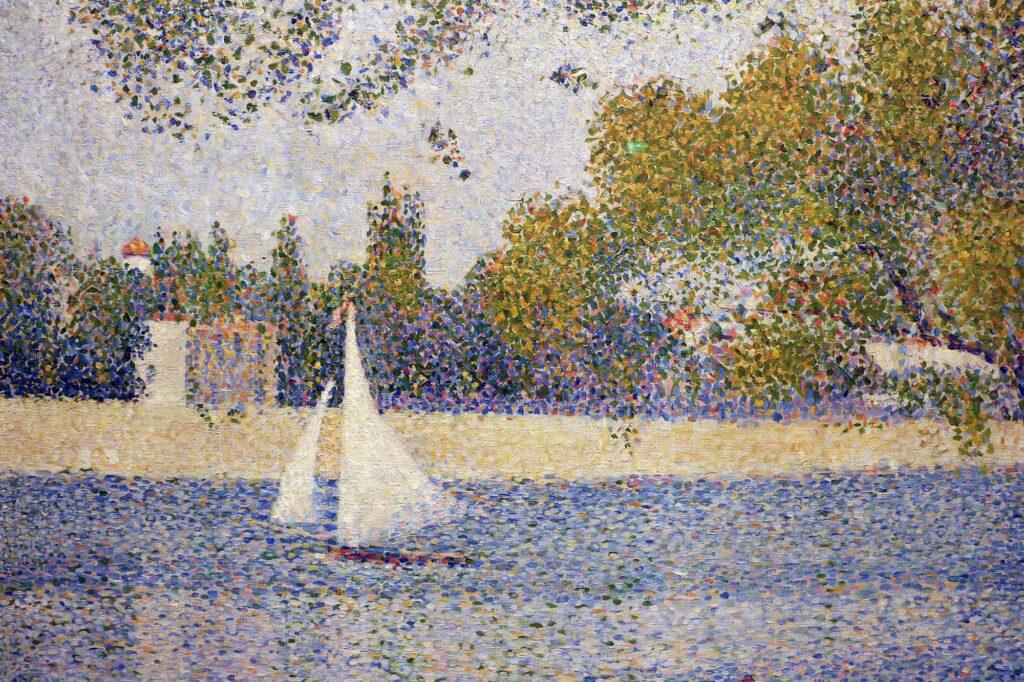 Georges Seurat, La Seine à la Grande-Jatte, 1888
