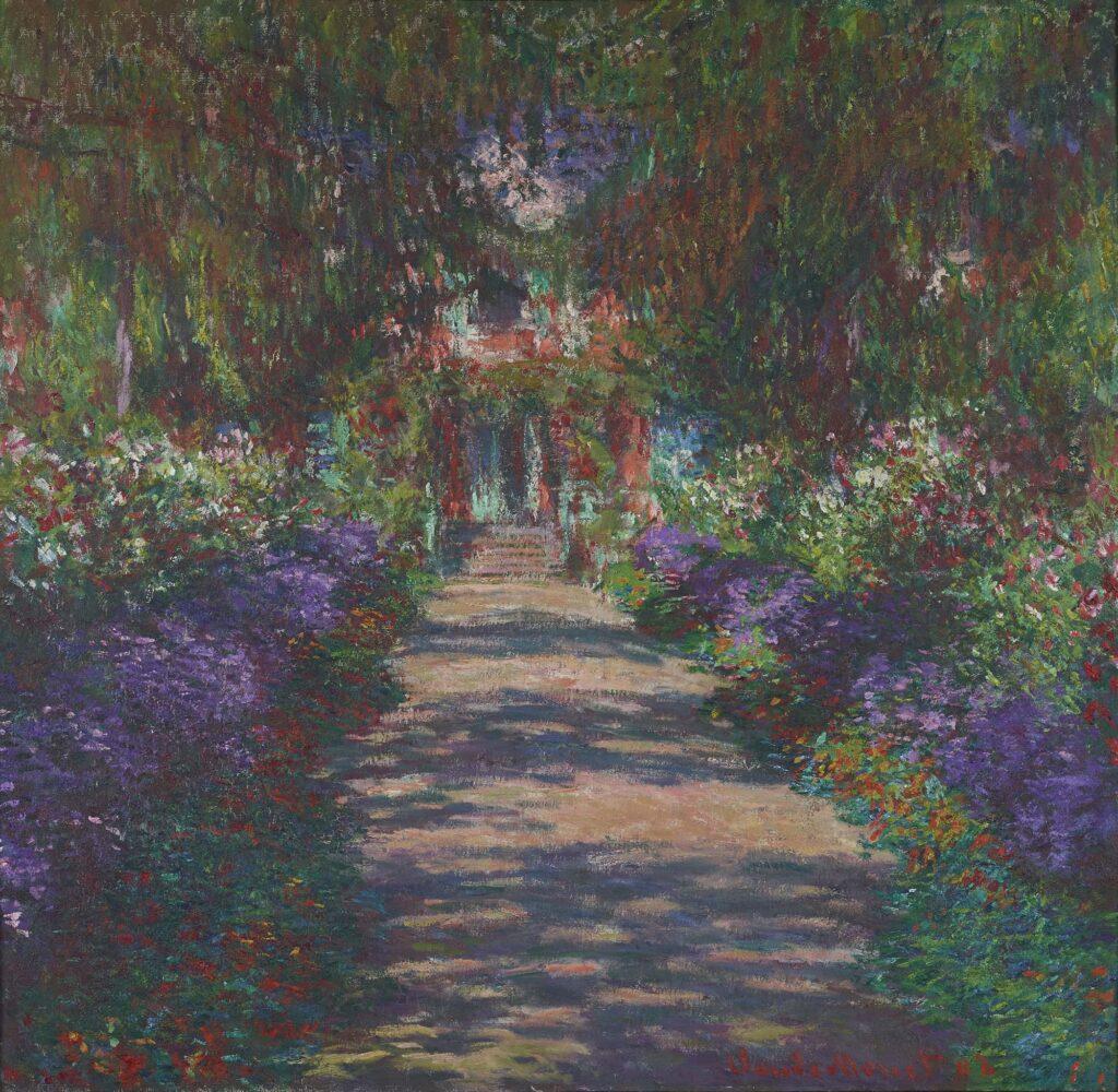 Claude Monet, Le Jardin de l'artiste à Giverny, 1900