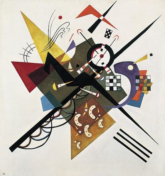 Vassily Kandisky, Sur blanc no 2,1923